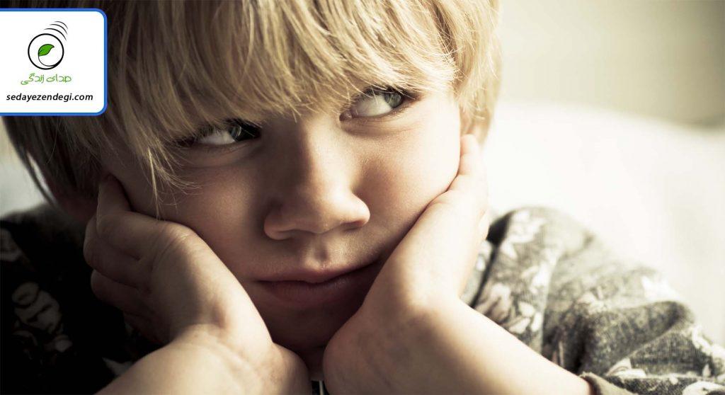 کودکان معمولاً دارای اضطراب غربیه هستند