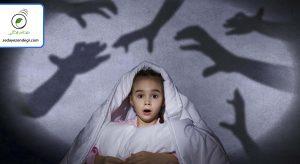 در دوره پیشدبستانی و ابتدایی معمولاً کودکان از چیزهای غیر واقعی میترسند